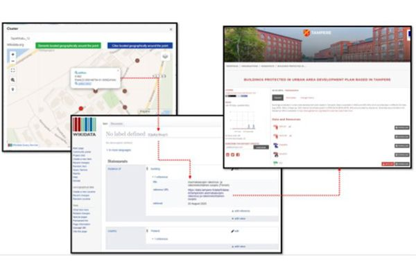 The BIMMS functionalities to retrieve additional data about the building surroundings