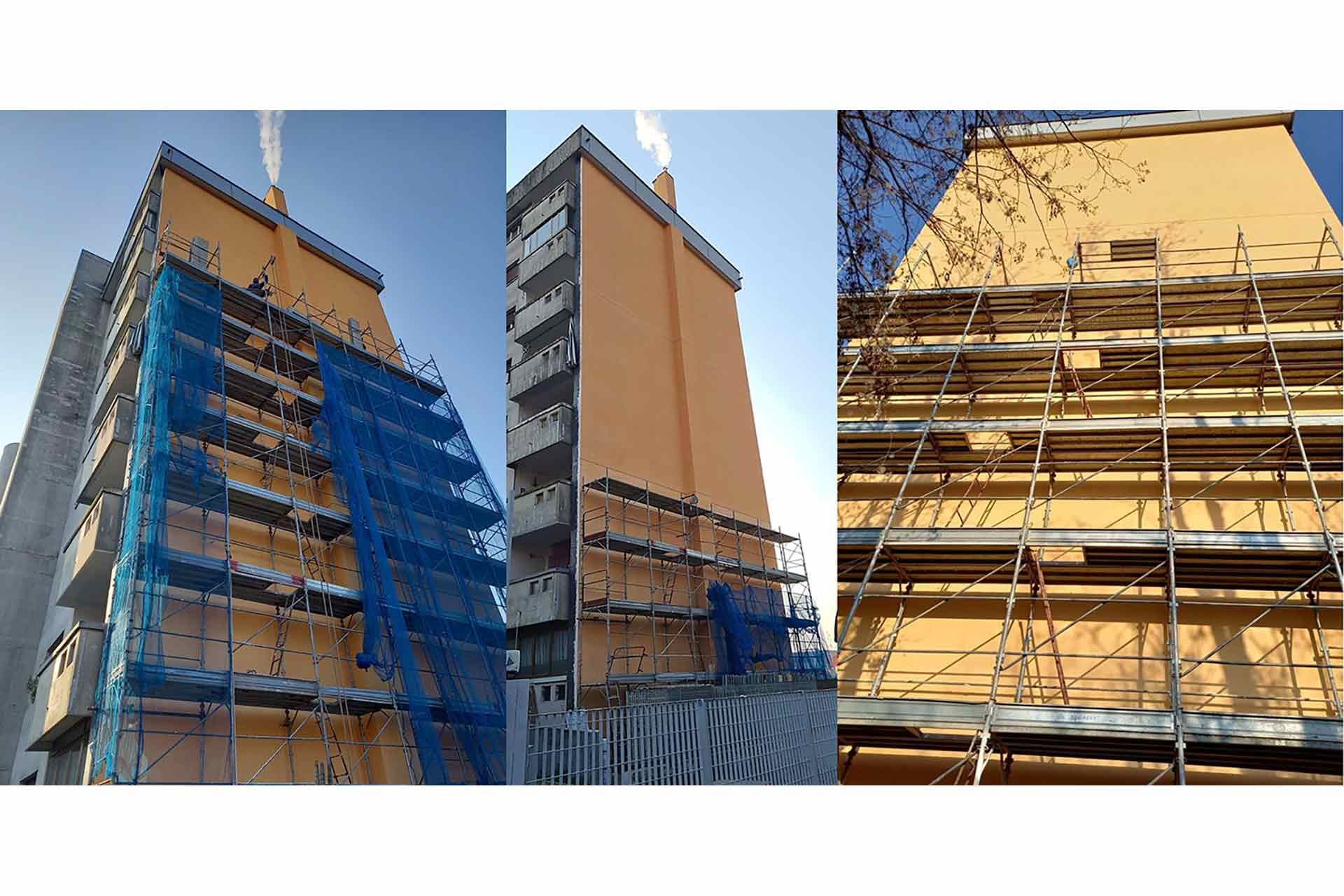 Renovation activities in MONZA Via Della Birona 47