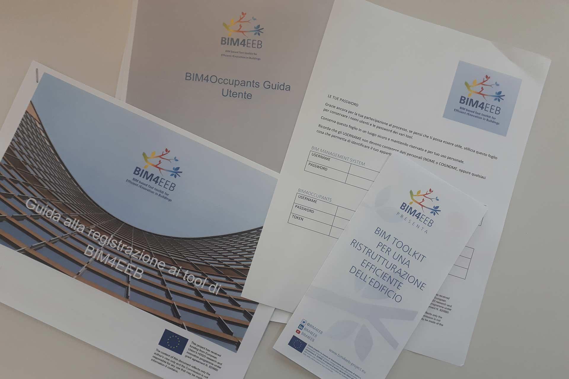 Brochure ald leaflet shared by Tenants in Italian Demo Case