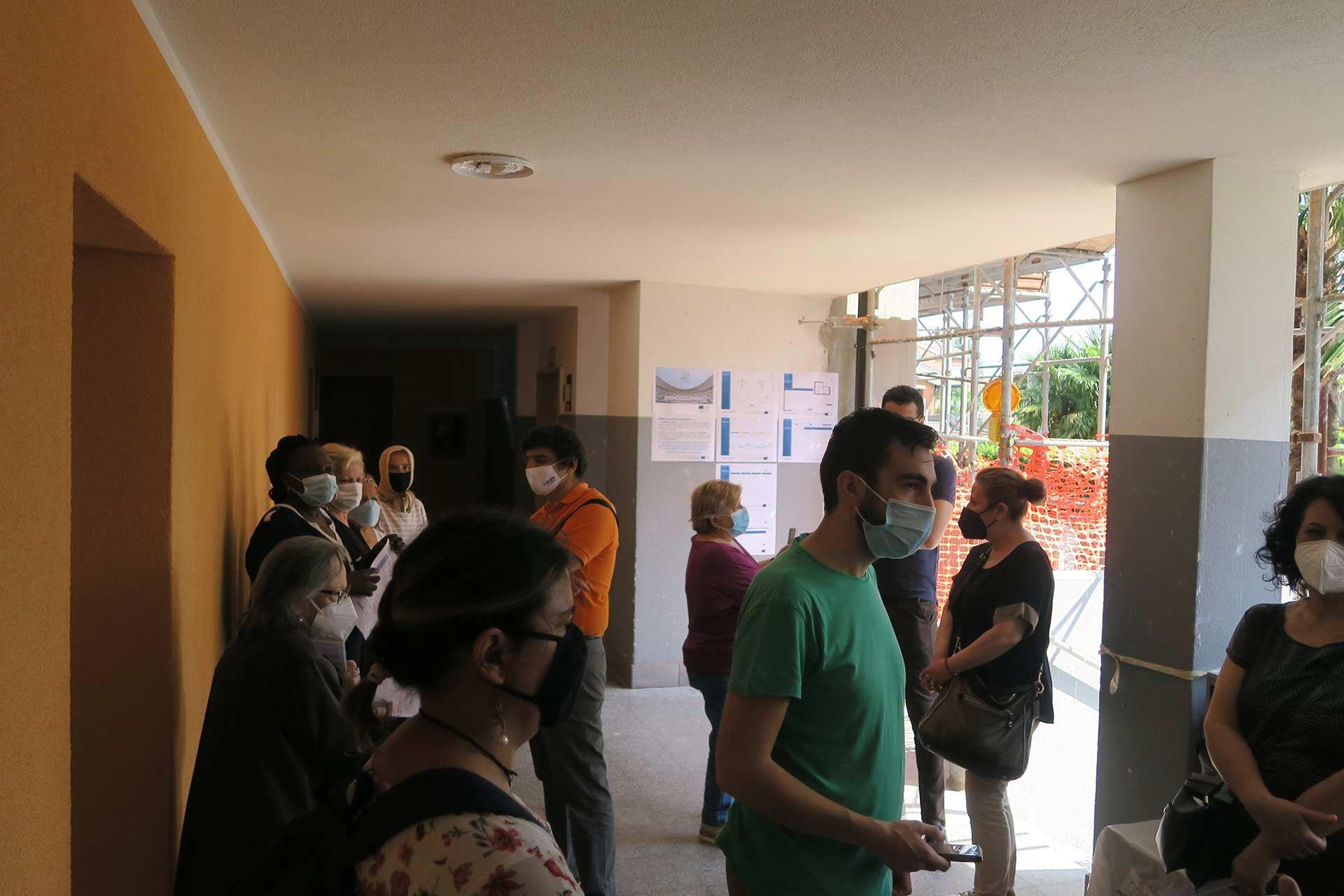 Italian demo case: tenants during workshop