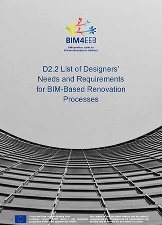 List of Designers' Needs and Requirements for BIM-Based Renovation Processes